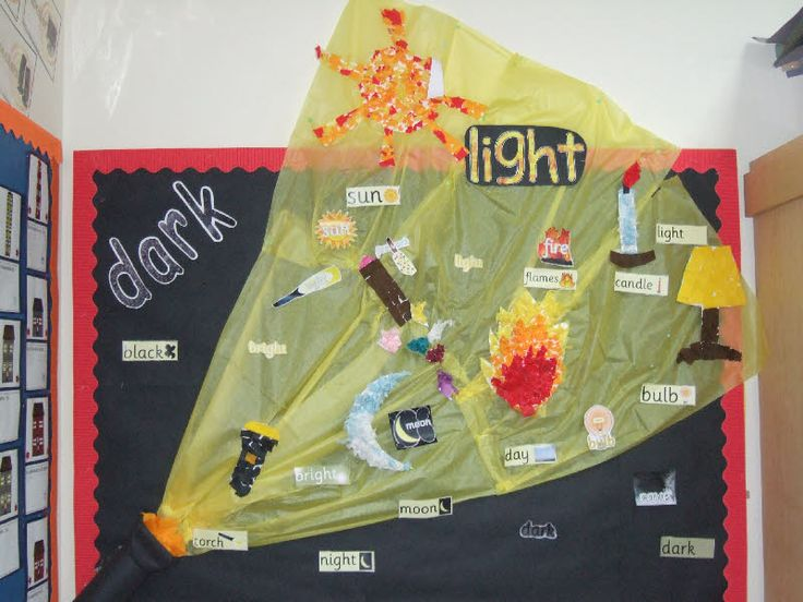 Light and Dark classroom display photo - Photo gallery - SparkleBox
