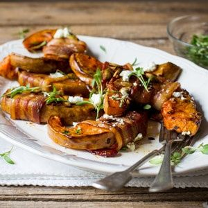 With goat's cheese and chilli, this dish is a winner!