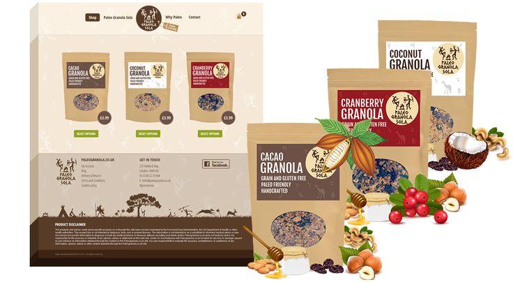 Paleo Granola Sola is crunchy, grains free, gluten free, and highly nutritious paleo granola.  #Paleo #Paleodiet #paleogranola #websites