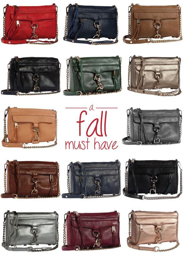 A Must Have Handbag - Rebecca Minkoff's Mini MAC Bag in 14 Fall Colours   Haute