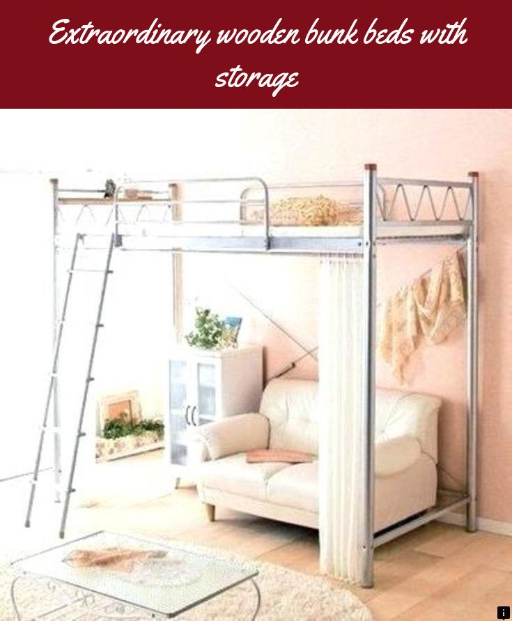 Find more information on wooden bunk beds with storage Check the