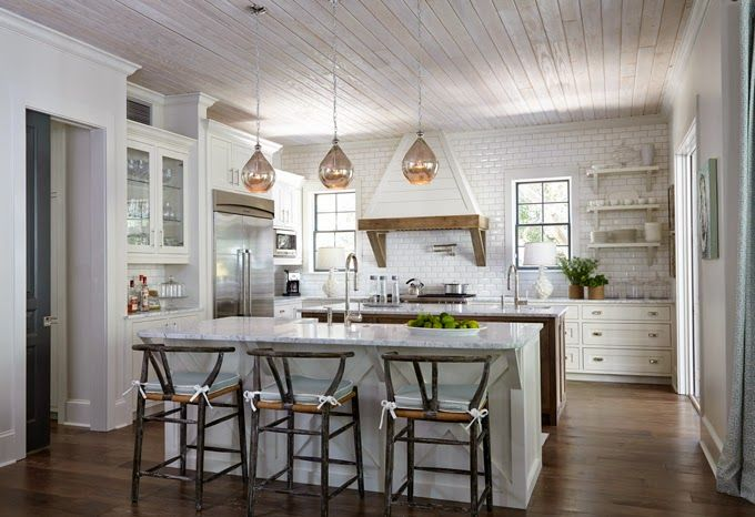 coastal kitchen | Tracery Interiors