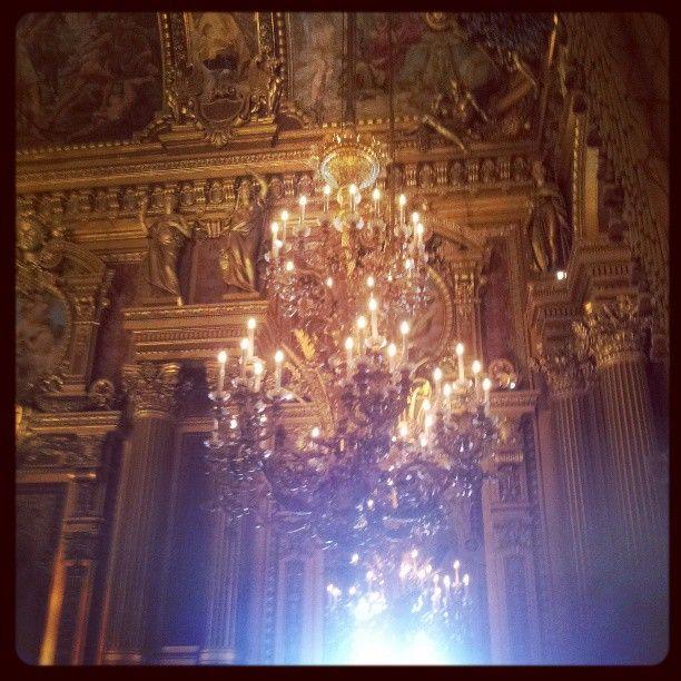 opera/ chandelier