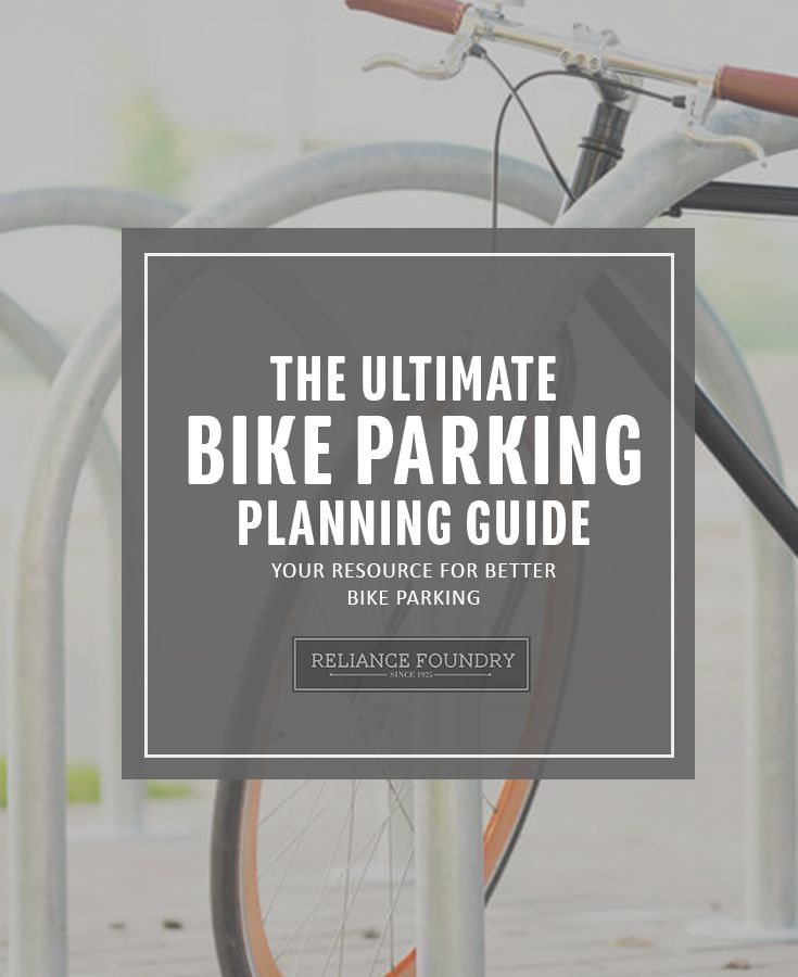 Not everyone is an expert on bike parking. Thankfully, you don't need to install in ignorance and hope for the best – use this guide to make your bike parking project a success. Read more on our blog! http://www.reliance-foundry.com/blog/bike-parking-guide