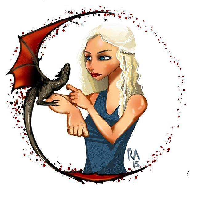 #got #gameofthrones #daenerys #targeryen #khaleesi #dragon #motherofdragons #throne #songoficeandfire #emiliaclarke #drogon #gotpiks #fallowme #drawing #picoftheday #instadraw #instalove #fireandblood