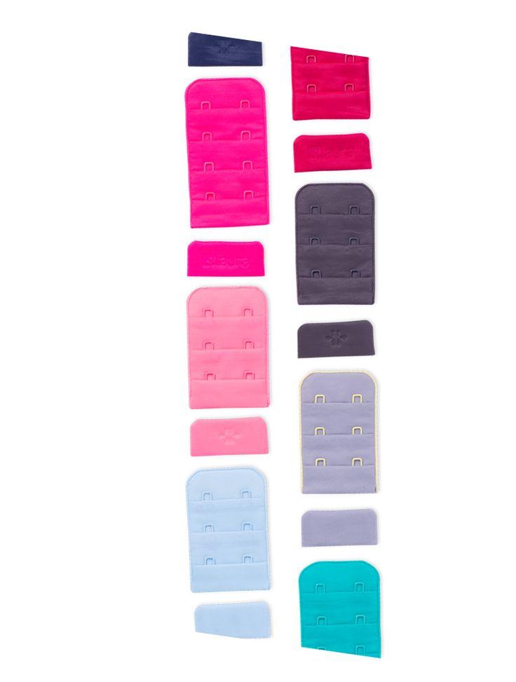 Abrochaduras, broches de todos los colores. Contrastes, logos, estampados, referencias distintas