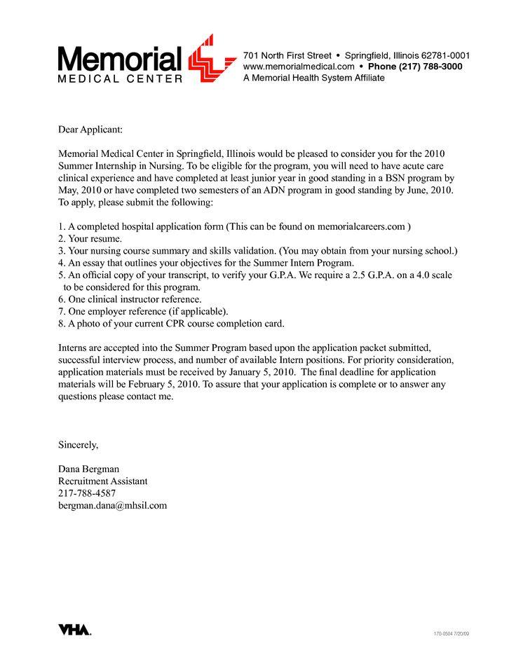 sample cover letter for nursing resume cover letter for