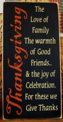 Thanksgiving primitive wood sign Fall by woodsignsbypatti on Etsy, $34.00