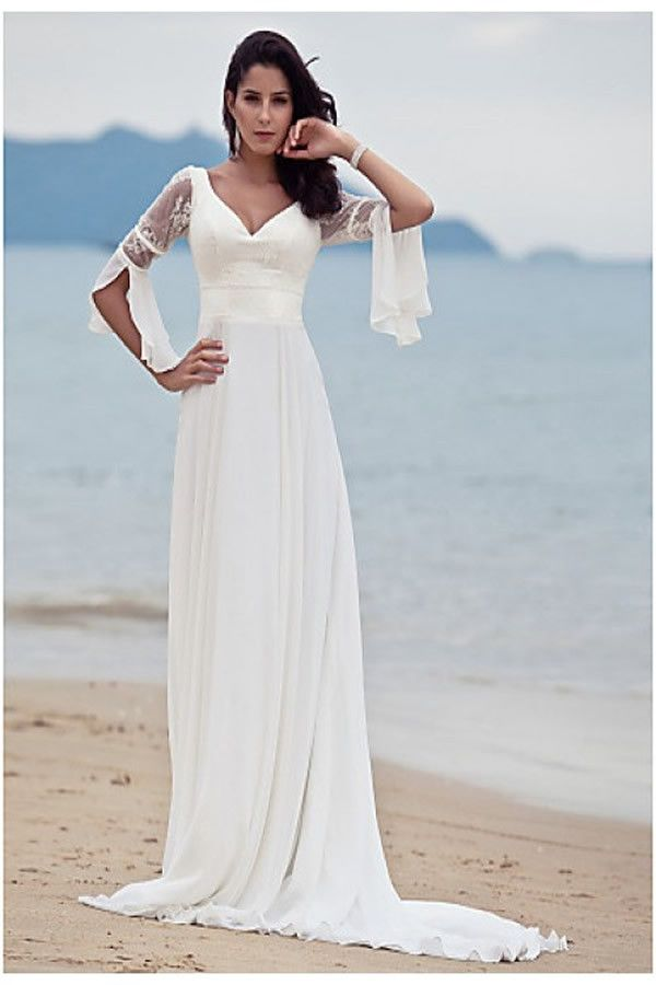 36 best Showoner Long Wedding Dresses images on Pinterest | Wedding ...