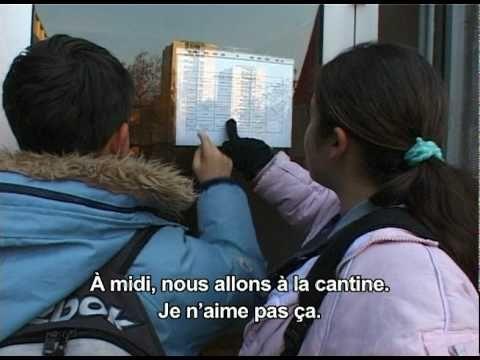 Loescher La France et les français - 5 L'école_avec sous-titres - YouTube - Même chose - avec sous-titres!