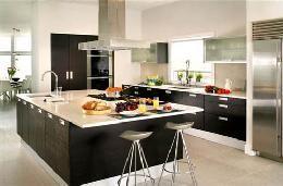 Fábrica de Muebles de cocina con desayunador minimalista Fabrica de muebles de cocina