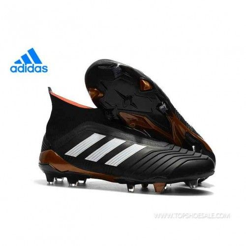 Regular product Adidas PREDATOR 18+ FG BB6316 Core Black White Solar Red Soccer  Shoes a33500141cebe