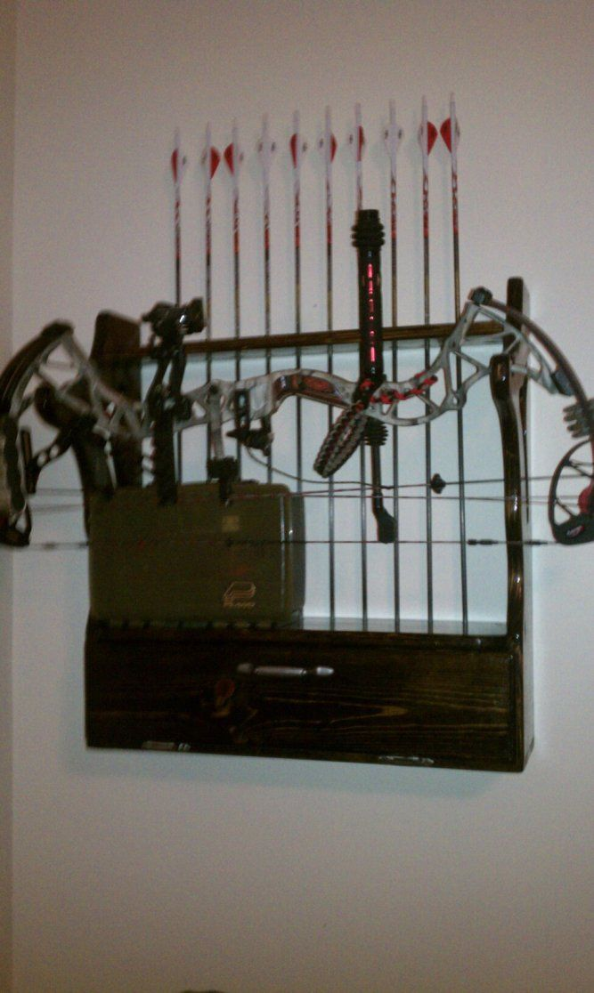 Homemade Bow Rack Woodworking Projects Amp Plans