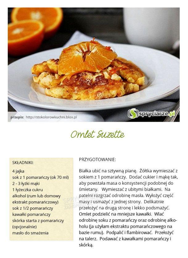 Przepis na omlet Suzatte
