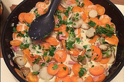 Herzhafte Topinambur - Pfanne (Rezept mit Bild) von küchenmaid | Chefkoch.de