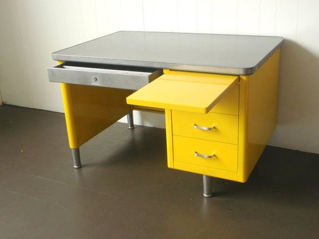 yellow tanker desk