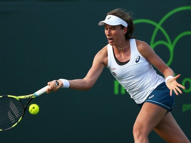 Result: Johanna Konta cruises into Miami Open quarter-finals #Tennis