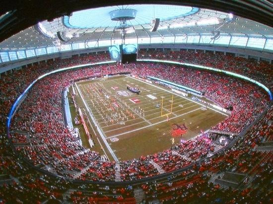 BC Lions, BC Place