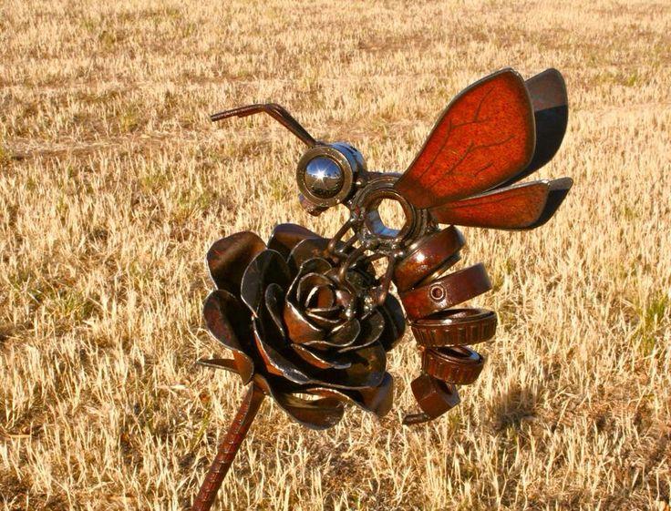 """The Rose Rider"" - Jordan Sprigg Sculptures"