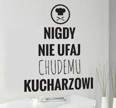 Znalezione obrazy dla zapytania napis na ścianę do kuchni
