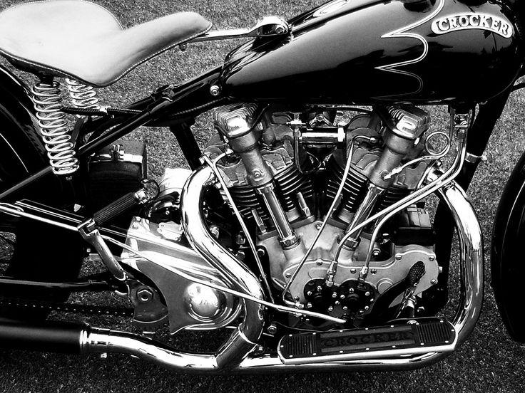 17 best ideas about motorcycle garage on pinterest for Crocker motors used cars