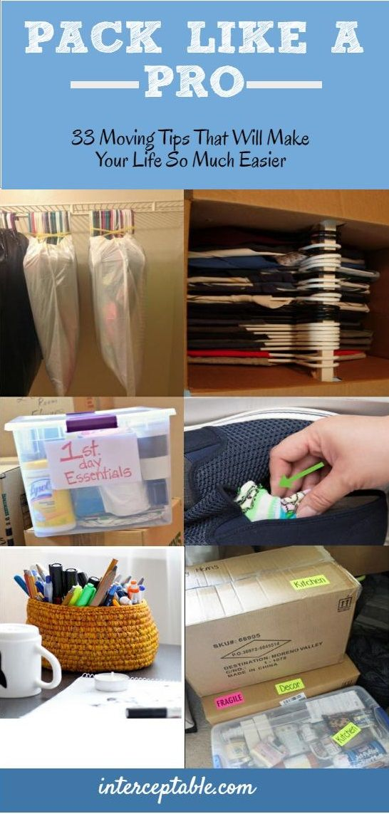33 Moving Tips That Will Make Your Life So Much Easier                                                                                                                                                      More