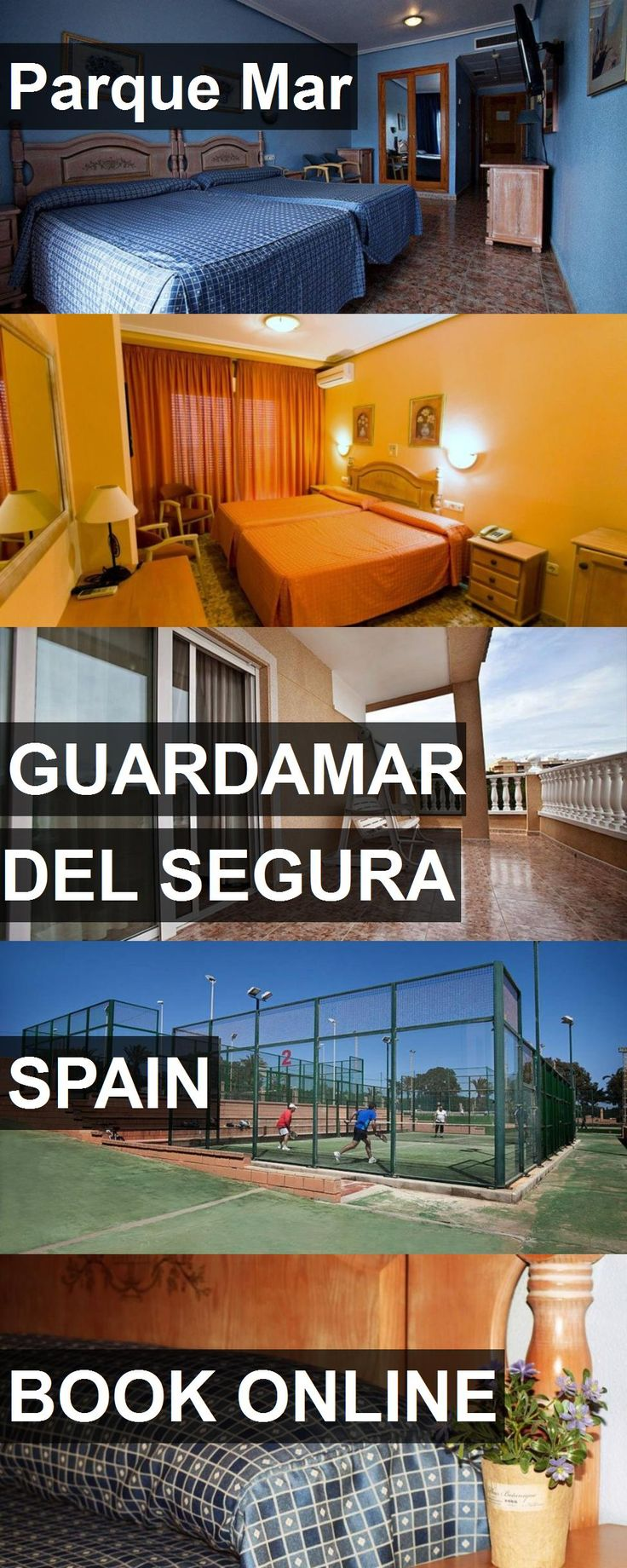 Hotel Parque Mar in Guardamar del Segura, Spain. For more information, photos, reviews and best prices please follow the link. #Spain #GuardamardelSegura #ParqueMar #hotel #travel #vacation