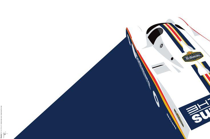 Porsche 962C by Ricardo Santos.