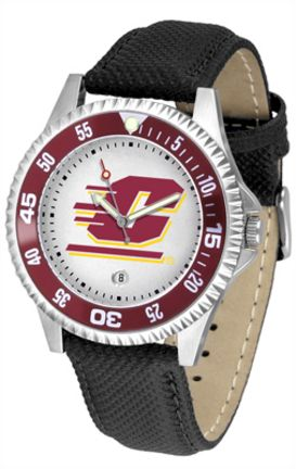 Central Michigan Chippewas Competitor Men's Watch by Suntime