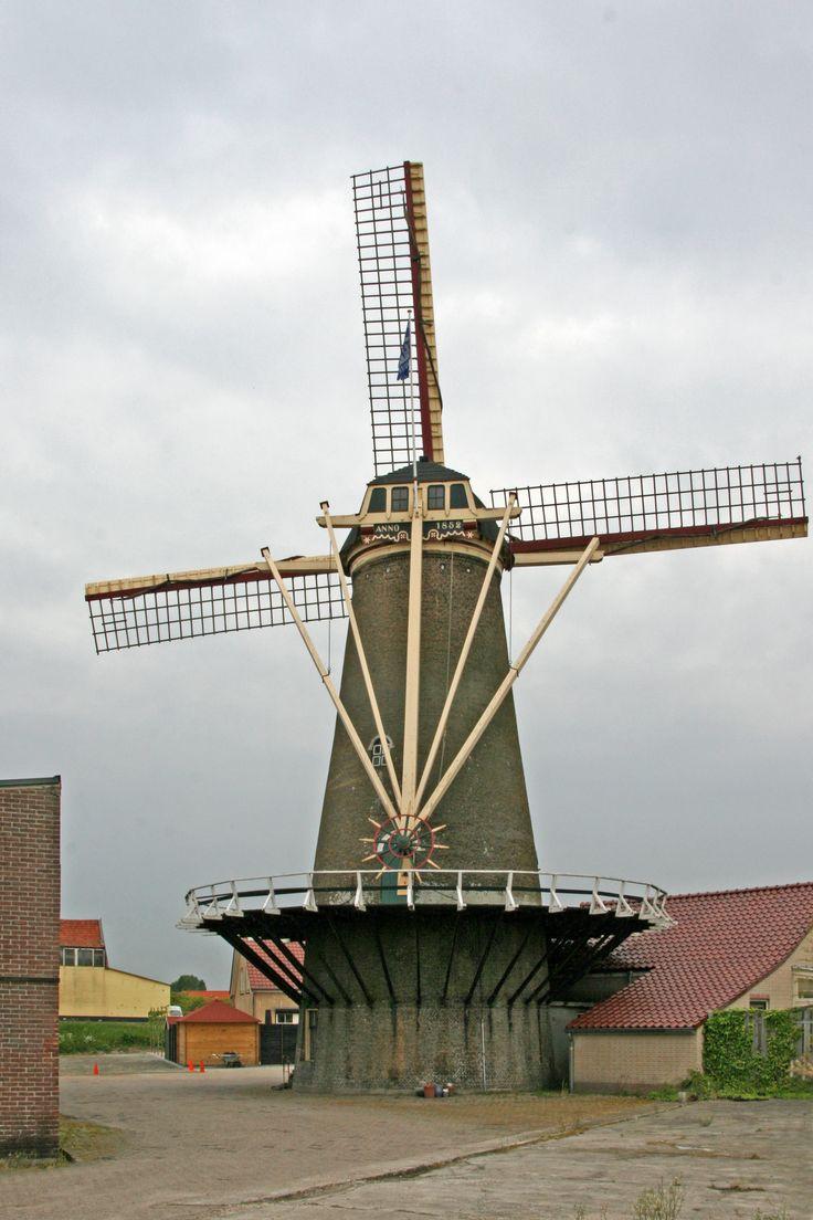 Windlust, Achthuizen,  Goeree-Overflakkee