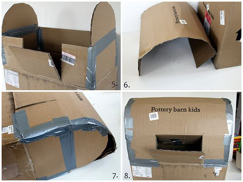tuTORIal: Kids' DIY Mailbox