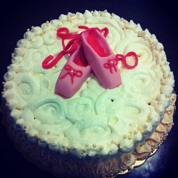 Sugar Ballet cake!