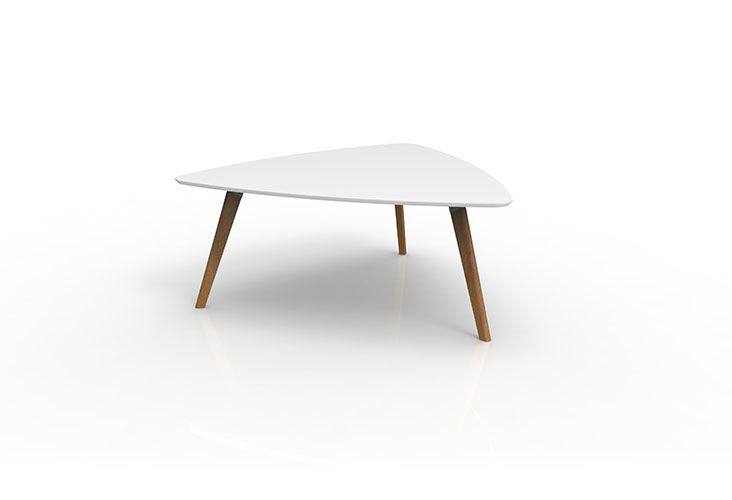 OSLO Collection by Accent. Tri-table with white top.  Other finishes available.