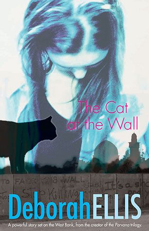 """The Cat at the Wall features a conflict-filled environment, racism & threats of extreme violence that are avoided via a peaceful protest & other creative behaviours. The beauty of this is that it is suitable for primary-school aged readers, beautifully written with relatable child protagonists in war zones. Ellis promotes empowerment of individuals whilst enlarging our horizons. I highly recommend this for readers of all ages, including ages 8 & up. I predict awards."""