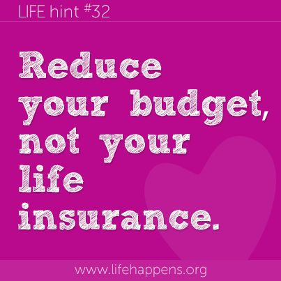 The cost of everything is rising, life insurance protects those you love in the future if your paycheck disappears. Reducing your coverage diminishes the gift. Find other ways - reduce the premium channels on cable, skip a latte - to keep your budget on course.