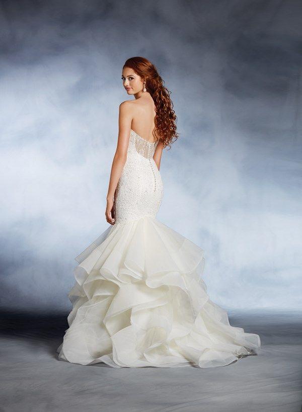 Best 25 disney inspired wedding dresses ideas on for Fairy inspired wedding dresses