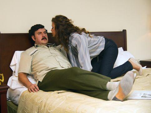 El Patron del Mal - Mujeres de Escobar Pablo Escobar fue un mujeriego de tiempo completo, pero en el camino sedujo a Regina Parejo, una periodista muy reconocida. (Angie Cepeda)