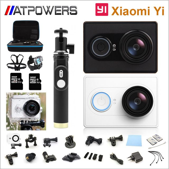 Xiaomi Yi Action Camera optional connector set XiaoYi waterproof Camera 1080P 60fps 16MP wifi Xiaomi Sports Cam Yi Action Camera US $80.99-156.98 To Buy Or See Another Product Click On This Link  http://goo.gl/EuGwiH