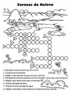 ATIVIDADES DE GEOGRAFIA 4° ANO FUNDAMENTAL EXERCÍCIOS IMAGENS PARA IMPRIMIR VII   PORTAL ESCOLA