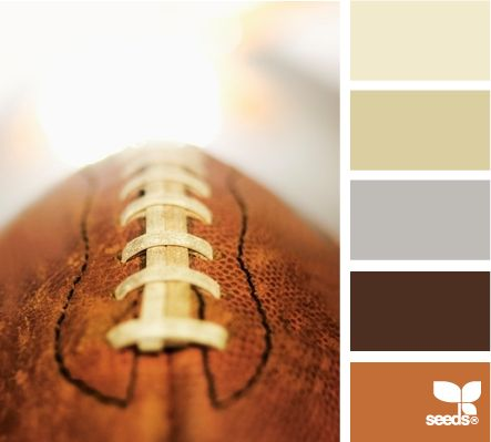 sunday tones - nice, masculine colors (love the photo too!) (Design Seeds)