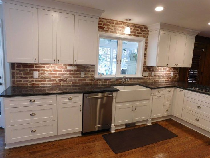 nice brick kitchen tiles Part - 1: Reclaimed recycled common bricks and brick tiles for kitchen backsplash,  indoor outdoor use, brick