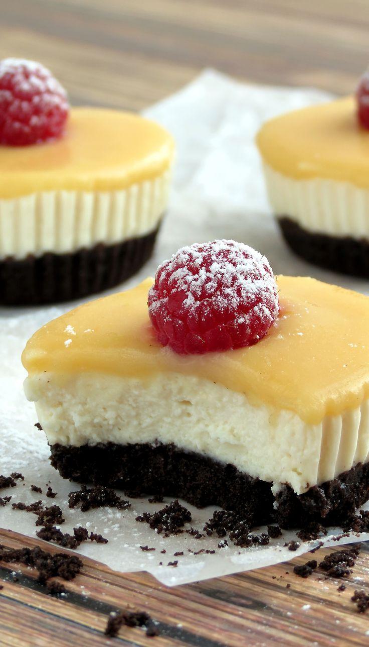 No Bake Lemon Tofu Cheesecake Bites - I can't wait to try this recipe.