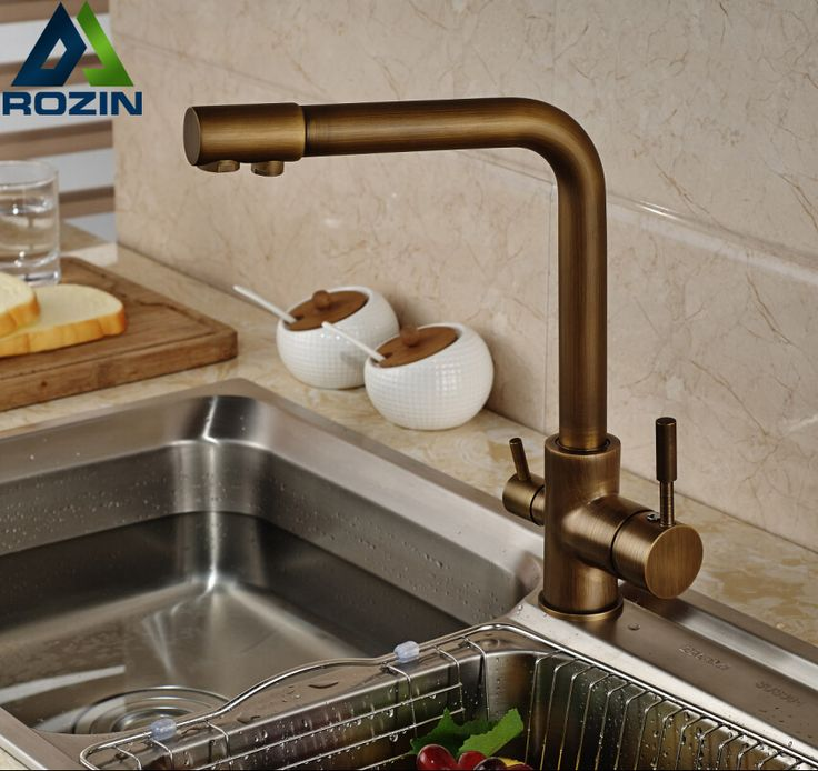 $67.20 | Buy Luxury Antique Brass Kitchen Faucet Kitchen Faucet Ideas |  Kitchen Faucet Design |