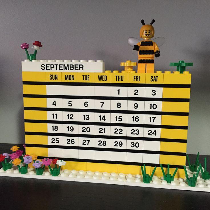 Lego Calendar - September 2016