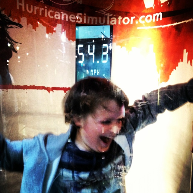 Hurricane booth