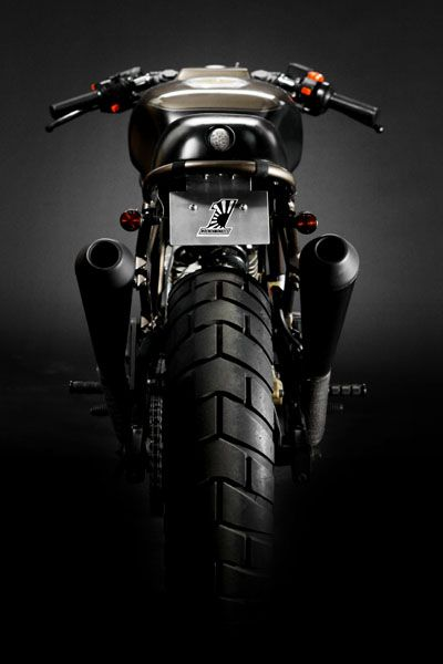 ♂ Black motorcycle DUCATI 750SS / MONKEE #20 BY THE WRENCHMONKEES