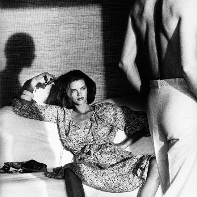 Lisa Taylor, photographed by Helmut Newton 1975