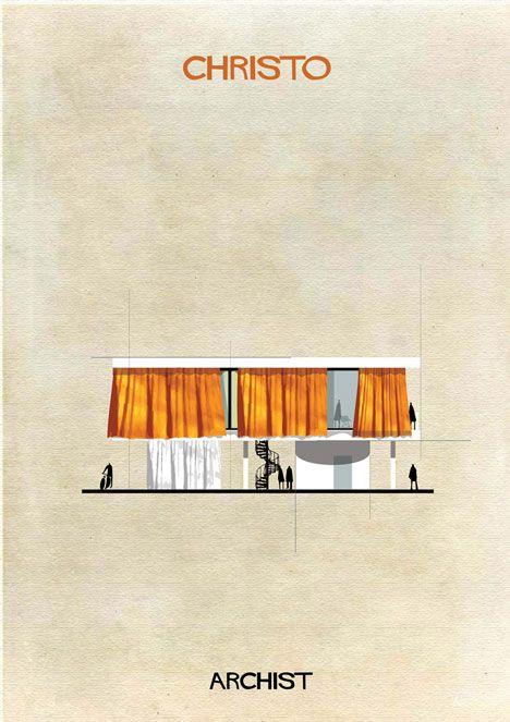 Arquitetura é o que combina com o sofá.