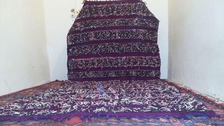 CARPET MOROCCAN Antique archaeological RUGS Flood Area Bedroom Cleaner Berber #Handmade #handmade