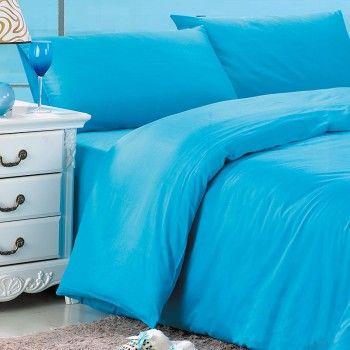 Solid Blue Bedding Sets